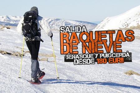 Raquetas de Nieve en Benasque y Puigcerdà