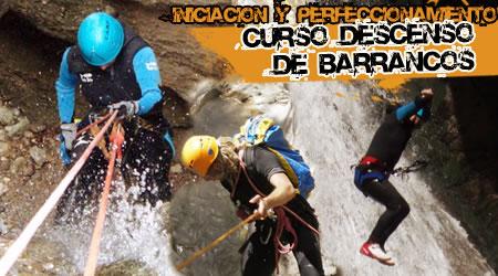 Curso Descenso de Barrancos en Huesca. Iniciación y Perfeccionamiento.