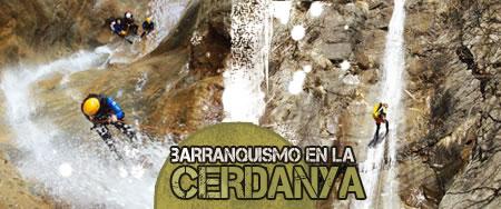 Descenso de barrancos en la Cerdanya