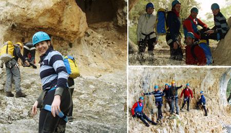 canyoning Semana Santa